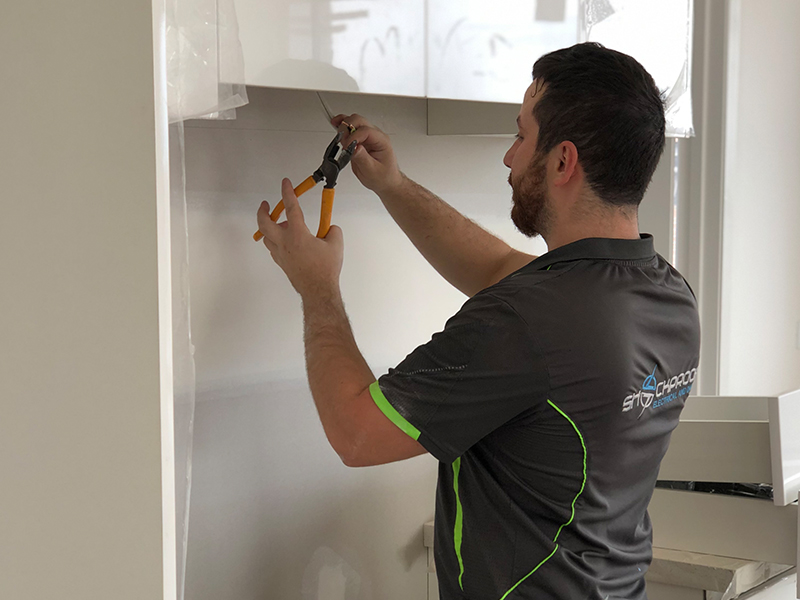 New Home Renovation and Wiring Installation Shockproof Electrical and Data