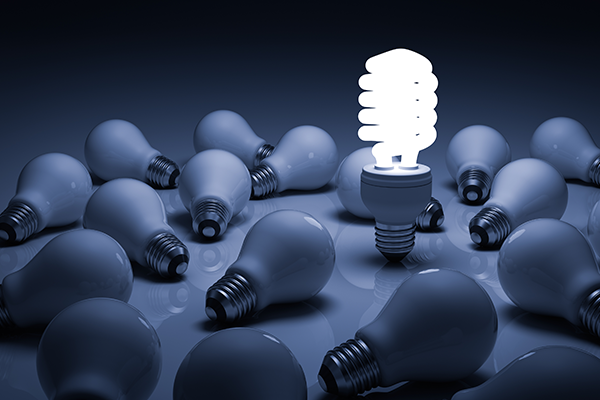 Incandescent Light versus LED Lights for Energy Efficiency