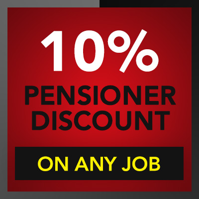 Electrician Discounts and Promotions - 10% Discount for Pensioners