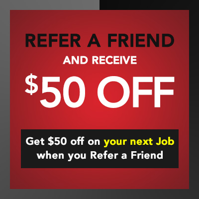 Electrician Discounts and Promotions - $50 Off when you Refer a Friend