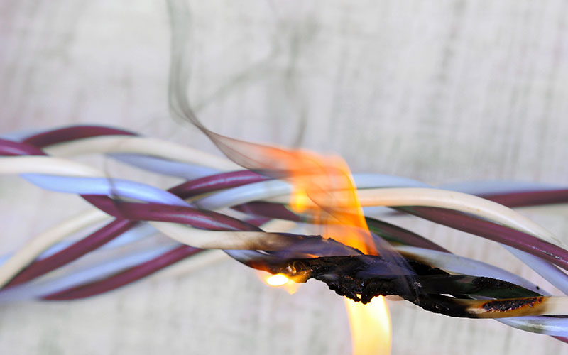electrical fires safety and prevention by Shockproof Electrical and Data